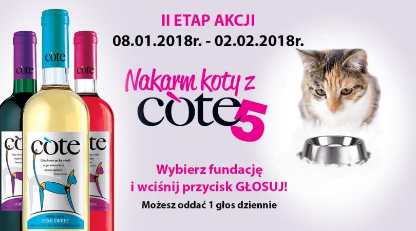 Zdjęcie  Nakarm koty z Cote