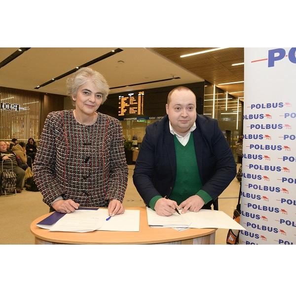 Zdjęcie Współpraca z Polbus-PKS