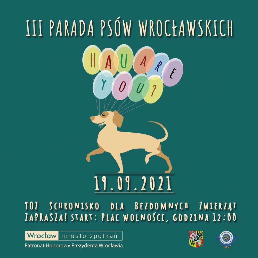 Zdjęcie III Parada Psów Wrocławskich - 19.09.2021 r.